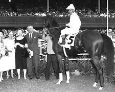 Tommy Lee 1958 Kentucky Derby Winner (Jockey - Billy Shoemaker), 8x10 Photo