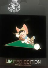 Disney Trading Pin Pinocchio Billiards Jumbo Series Limited Edition 500 98694