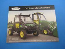 Original Curtis Sale Brochure Cab System For John Deere 4 Pages NOS M2952