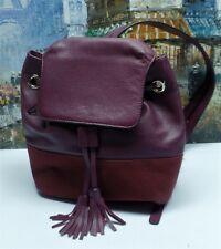 Rebecca Minkoff Mansfield Burgundy Backpack - $295
