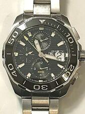 TAG HEUER Aquaracer Chronograph Automatic Men's Watch Item No. CAY211A.BA0927