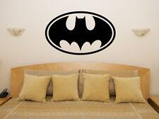 logo batman cómic Heroe DC Infantil Adhesivo para dormitorio pared imagen