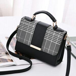 Women Hand Bag Messenger Shoulder Fashion Small Cross Luxury Leather Ladies Purs