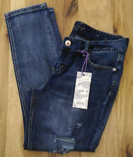 Vanity Girlfriend Destroyed Stretch Jeans Sz 30 ''NWT'' 34 x 29 ''Discontiued''