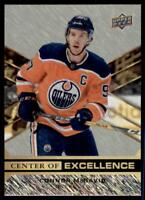 2020-21 Overtime Center of Excellence #CE-1 Connor McDavid - Edmonton Oilers