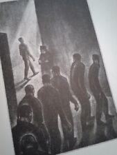 Vintage First Edition Lynd Ward Oscar Wilde On Reading Gaol Mezzotints Signed