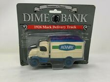 Ertl Treasure Classic, Dime Bank, 1926 Agway Mack Delivery Truck