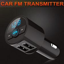 Inalámbrico Bluetooth coche reproductor de MP3 FM Transmisor Radio USB Cargador