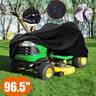 "96.5'' 55"" Lawn Mower Tractor Cover UV Resistant Waterproof Garden Outsid"