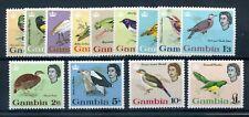 Gambia 1963 birds defin set fine MNH