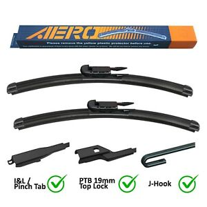 AERO Chevrolet Avalanche Silverado Suburban Windshield Wiper Blades (Set of 2)