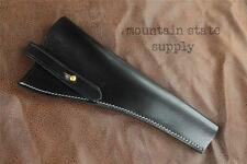 """RH US Civil War Colt 1851 7.5"""" Barrel Revolver Black Leather Open Top Holster"""