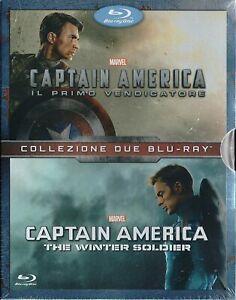 Captain America: Il Primo Vendicatore + The Winter Soldier [Cofanetto Blu-Ray]