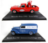 Set of 2 Mercedes Benz - 1:43 SALVAT Autos Inolvidables Diecast Model Car SAL2