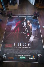 THOR 4x6 ft Bus Shelter D/S Movie Poster Original 2011