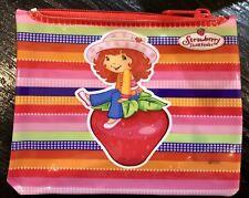 Strawberry Shortcake Cute & Cuddly Pink Girls Zip Wallet Change Purse