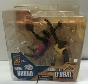 McFarlane NBA Elton Brand Shaquille O'Neal All-Star Exclusive Lakers / Clippers