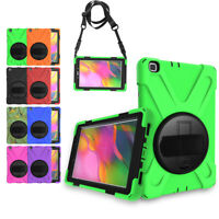 For Samsung Galaxy Tab A 8.0 8.4 10.1 Tablet Rugged Rotating Stand Case Cover