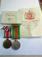 WW2 DEFENCE MEDAL & SPECIAL CONSTABULARY MEDAL to William J Coates of Malton!