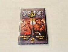 King of the Cage KOTC #52 Mortal Sin & #58 Prime Time 2-DVD Set Faber Ramirez ++