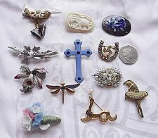 Exquisite Vintage Wholesale Costume Brooches 20Th Century 12 C1 Mixed Subjects