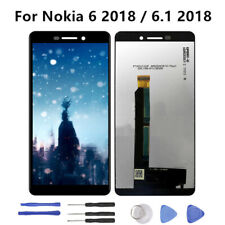 For Nokia 6.1 2018 LCD Display Touch Screen Digitizer Assembly Replacement RHNUS
