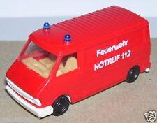 PRALINE HO 1/87 FIAT 242 IDEM CITROEN C35 FIRE POMPIERS NOTRUF FEUERWEHR 112