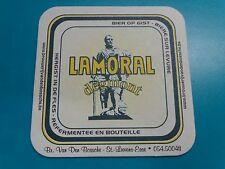 Beer Breweriana Coaster: Browerij Van Den BOSSCHE Lamoral Bier ~ St Lievens Esse