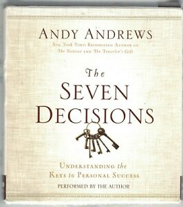 Andy Andrews - The Seven Decisions CD Audio Book (6CDs)