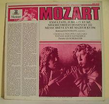 "33T MOZART Disque LP 12"" HANSMANN CAILLARD GUSCHLBAUER Classique ERATO 19041"
