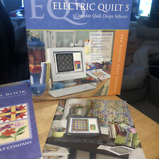 Electric Quilt 5 Complete Quilt Design Software, Complete, 1 Cd, 3 Books