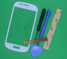 White Outer Screen Lens Glass for Samsung Galaxy S III mini GT-I8190