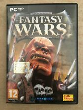 FANTASY WARS VIDEO GAME GIOCO VIDEOGAME COMPUTER PC DVD ROM ITA ITALIA OTTIMO