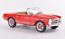Whitebox 124002 Mercedes 230SL 1965 Red 1/24th Scale Model New Boxed Sealed T48P