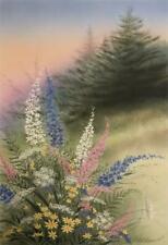"The Promise of Spring Hummingbird  Art Print by Robert Copple 15/"" x 10.5/"""