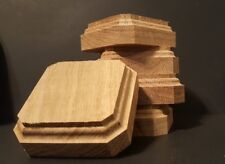 3x3x1.1/4Hand Made Wooden base for figures/miniatures-Solid oak