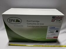 IPW Print Cartridge, Black, Replaces HP CE3 90X, Fits HP M4555MFP, SKBAWA-000