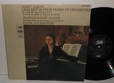 DTXPM 30395 Saint-Saens Piano Concertos Nos.1 & 3 Jeanne-Marie Darre /Fourestier