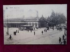 Carte Postale Belgique, Gand / Gent, Gare du Sud, Bahnhof, 1928 nach Menen
