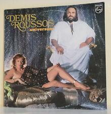 """33 tours Demis ROUSSOS Disque Vinyle LP 12"""" UNIVERSUM - PHILIPS 6303194 F Rèduit"""