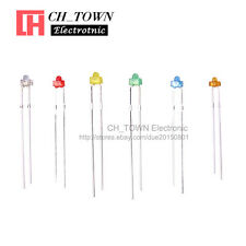 6Lights 120PCS 1.8mm Diffused LED Diodes White Red Green Blue Yellow Mix Kits