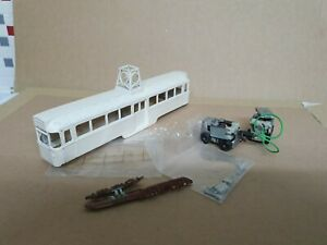 00 scale Model Tram Blackpool 680 with BEC bogies.