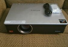 "Sony VPL-CW125 Home Theater Projector ""Relamped w/ Zero Hrs New Bulb"" + Remote"