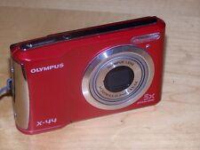 OLYMPUS X44 14.0 MP DIGITAL CAMERA- RED