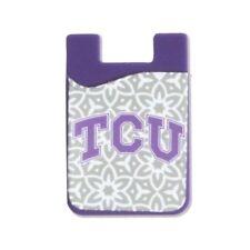 TCU HORNED FROGS CELL PHONE CARD HOLDER WALLET DESDEN ACCESSORIES TX CHRISTIAN