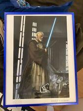 Star Wars Obi-Wan Fine Art Print Framed Jerry VanderStelt