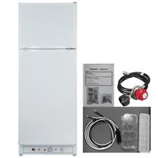 Smeta 10 Cu Ft Propane Gas Refrigerator Fridge Freezer RV Camper Cottage Cabin