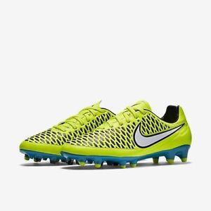 Nike Women's Magista Orden FG Volt White Blue Lagoon Black soccer 658571-700