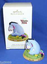 Hallmark Winnie the Pooh Collection Ornament Only on the Outside 2012 Eeyore Nib