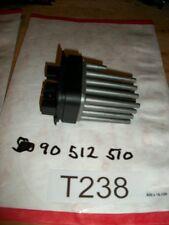 2005  SAAB 9-3  BLOWER MOTOR RESISTOR  PT# 90 512 510